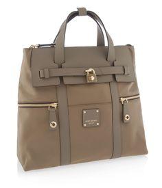 Jetsetter Brown Convertible Backpack - Backpacks | Henri Bendel