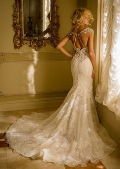Glamorous Wedding Dresses with Couture Details | Glamorous Wedding Dresses, Glamorous Wedding and Eve Of Milady http://www.7dress.xyz/Wedding-Dresses-c-1.html
