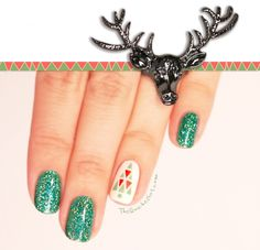 deer, QuicheGirl, kiko, essie, christmas,sapin