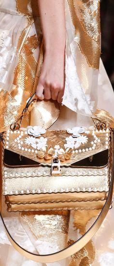 136cc07fc383 Brilliant Luxury♢Fendi Candy Colours Spring 2017♢Kan I Wonder Monster  Shoulder Bag Fashion