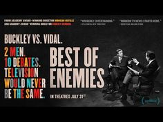 Gore Vidal vs Bill Buckley in 'Best of Enemies' Documentary Trailer   FirstShowing.net