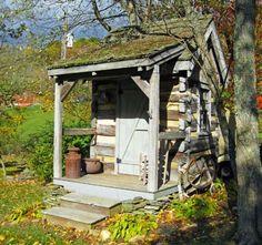 Survivor - log cabin shed