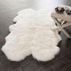 Sheepskin Area Rug | dotandbo.com