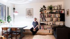 Mange ønsker seg spesialtilpassede møbler og skreddersydde løsninger. Sverre Søndervik Sæther har sveiset sitt eget interiør.