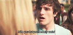 His saying to every fangirl ever... (Josh Hutcherson as Clapton Davis in Detention )