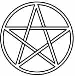 Tarot Prophet gives a breakdown on the Pentacle, a symbol in Wicca and Neo pagan religions, Hermetic System, and Tarot Divination. Colouring Pages, Coloring Sheets, Coloring Books, Alphabet Coloring, Tarot, Desenho Tattoo, Book Of Shadows, Magick, Witchcraft Symbols