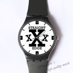 straight edge Custom classic photo watch
