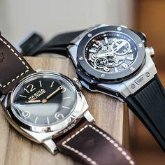 Panerai Radiomir 1940 Marina Militare - PAM587  Hublot Big Bang Unico  #hublot #panerai #paneraicentral #paneristi   #followme#sigame#follow @vip_watch_brasil  #hautetime#horology#horologist#orologi#watch#watcholics#watchporn#watchflavor#watchfan#wristwatches#wristporn#louisvuitton#ferrari#luxurywatch#luxury#luxurylife#relogio#clock#vip_watch_brasil#luxurybazaar#rolex#submariner#hautehorlogerie by vip_watch_brasil