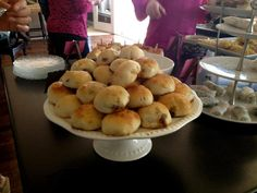 Catered Baby Shower, Char Sui Bao (Cantonese barbecue-pork-filled bun)