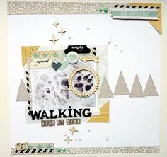Walking side by side by Anke Kramer at Studio Calico