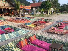 Ko bar in Klong Dao Beach - Ko Lanta