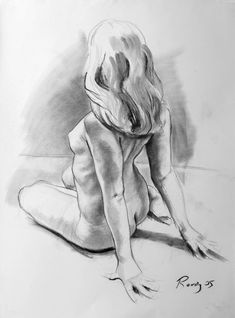 study of amanda 2 | Michael Reedy Portfolio Drawings Paintings