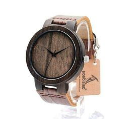 Branded watch Bobobird made of exotic wood is the ideal choice not only for a special occasion! This is the ideal model for the modern man with class! 👌
