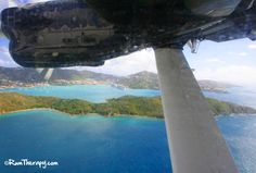 Seaplane Ride from St. Croix to St. Thomas - great way to go! Click here to read more!