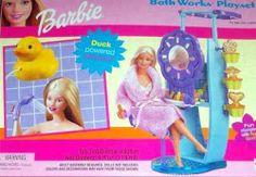 Barbie Bathworks Playset by Mattel. $14.05. 2000 Mattel, Inc. Barbie Bath Works Playset