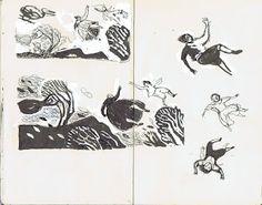 Pam Smy, sketchbook