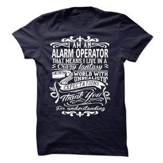 i am an ALARM OPERATOR.Thank you! - #gift #monogrammed gift. HURRY => https://www.sunfrog.com/LifeStyle/i-am-an-ALARM-OPERATORThank-you.html?id=60505