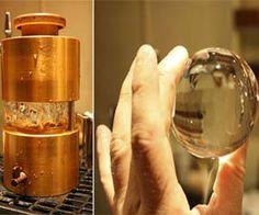 spherical ice cub maker