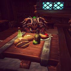 Bom dia. Good morning. #worldofwarcraft #warcraft #wow #Wod #elf #elfo #cooking #comida #gamefood #comidaemjogos #pcgame #girlgamer #chefgirlgamer #geek #nerd #gamer #game