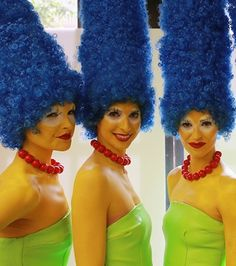 The Marge Simpson trend is happening, and it's great.