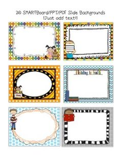 Smartboard and powerpoint background templates social studies theme smartboard and powerpoint background templates reading theme toneelgroepblik Images
