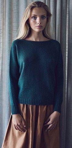Elin ensfarvet - Kvinder - Helga Isager - Designere