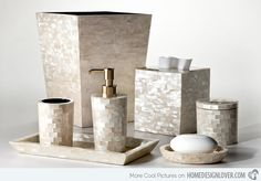 15 Luxury Bathroom Accessories Set Home Design Lover Here we have nice picture about bathroom accessory sets. We wish these photos can be . Marble Bathroom Accessories, Bathroom Decor Sets, Modern Bathroom Decor, Bathroom Interior Design, Bath Accessories, Home Decor Accessories, Modern Bathrooms, Paris Bathroom, Bathroom Crafts