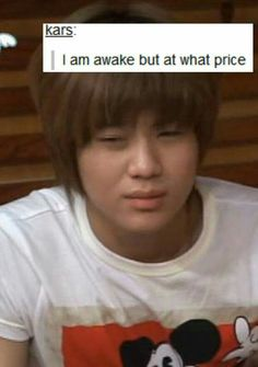 What price? Huh? Just go back in your bed Taemin