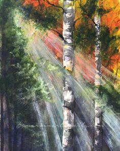 """""""Breakthrough"""" • 9 x 12 • watercolor smarvinart.weebly.com"""