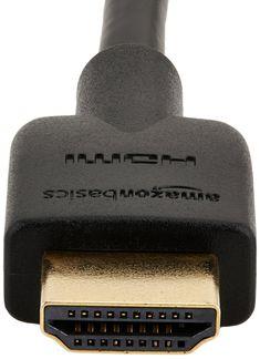 AmazonBasics High-Speed HDMI Cable - 10 Feet (Latest Standard)