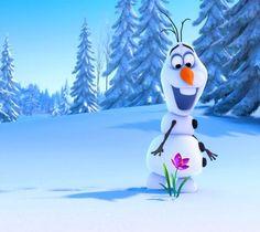 Olaf is so cute!