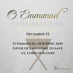 O Antiphon - O Emmanuel