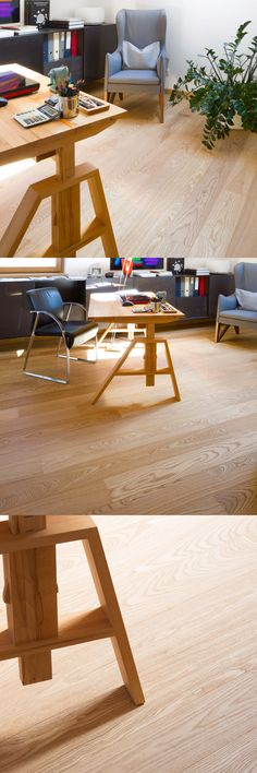 A warm, golden and very superior shade of colour! Natural Wood Flooring, Old Buildings, Natural Oils, Drafting Desk, Plank, Woods, Woodworking, Colour, Warm