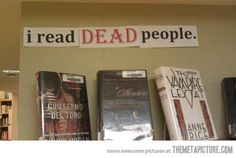 Librarians have the best sense of humor…