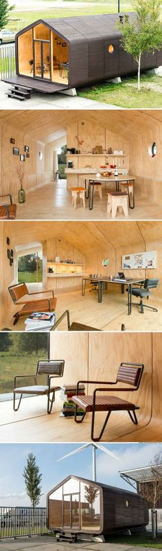 The Wikklehouse: a modular home made from recycled cardboard!