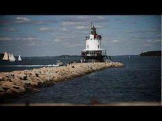 Maine Lighthouse Clips 1 - YouTube