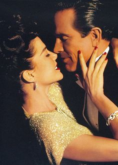 """♡ Annette Bening and Warren Beatty ♡ in """"Bugsy"""""""