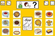 """""""Tablero de comunicación: Pasta y legumbres"""". Recopilación de  diferentes tableros de comunicación de 12 casillas, organizados por necesidades básicas y centros de interés.  Los tableros pueden imprimirse tal como aparecen en los documentos o bien se puede modificar el contenido, la forma, el color, etc., para adaptarlos a las características individuales de cada usuario. Pueden utilizarse también para trabajar distintos repertorios de vocabulario agrupado por temas o categorías."""
