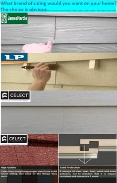 Clapboard Siding And Fence On Pinterest