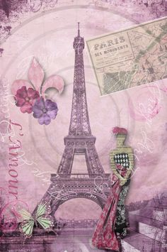 Deconstructing Paris Collage...