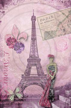Deconstructing Paris Collage...