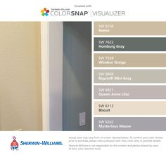 Mountain Stream And Barcelona Beige By Sherwin Williams