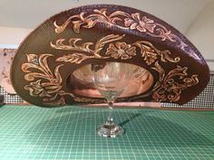 Hand painted cowboy hat. I can paint one for you!