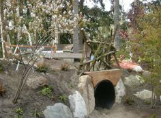 Tunnel for outdoor classroom