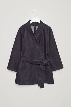 COS | Denim kimono blazer