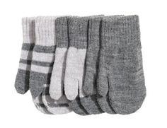 Set 3 manoplas gris -H&M-