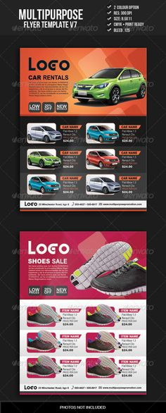 Ping Pong Tournament Flyer Flyer template, Logos and Event flyers - car for sale flyer template