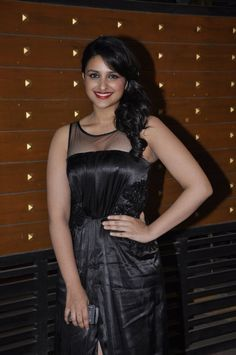 Parineeti Chopra at 58th Filmfare Awards.