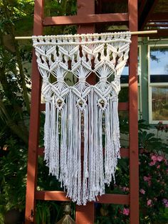 Large Macrame Wall Hanging Macrame Home Decor By Macrameelegance