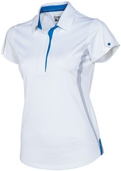 Sunice Silver Leslie Ladies Golf Polo   #golf4her #golf
